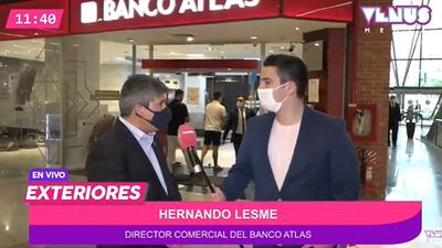 Banco Atlas y Shopping del Sol lanzan su nueva tarjeta de crédito
