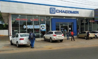 Asaltan local de Chacomer en Ñemby