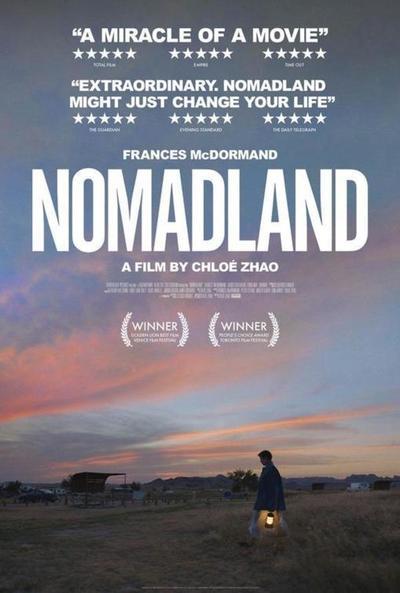 'Nomadland', una de las favoritas para los Premios Oscar 2021
