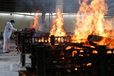 Un hospital con pacientes de Covid-19 se incendió en la India y hay al menos 13 muertos