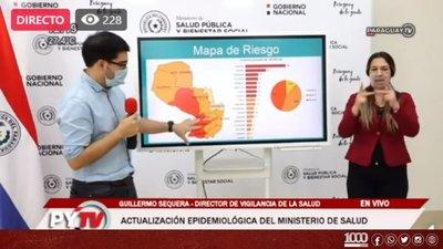 Central y Asunción concentran el 70% de los contagios de Covid-19 a nivel país