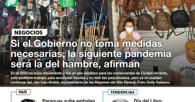 La Nación / LN PM: Las noticias más relevantes de la siesta del 23 de abril