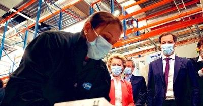 La Nación / A fines de julio, Europa tendrá vacunas para 70% de sus adultos