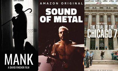 """Dónde ver las 8 películas nominadas a """"Mejor film"""" en los Oscars 2021"""