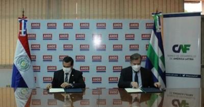 La Nación / Ande y CAF firman convenio de cooperación en materia de ciberseguridad