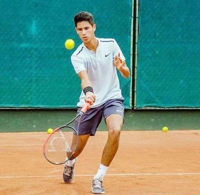 Daniel Vallejo ya es campeón en dobles y va por uno más
