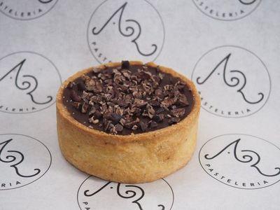 El antojo dulce del día: Tarta de chocolate y caramelo