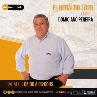 El Heraldo con Domiciano Pereira