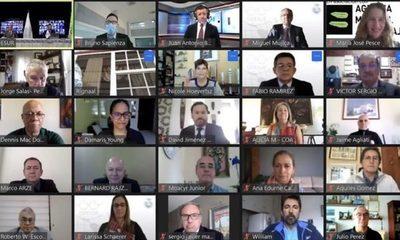 Provechosa asamblea virtual de cara a los Juegos Sudamericanos Asunción 2022