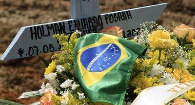 Brasil alcanza nuevo récord mensual de muertos por Covid-19 en abril