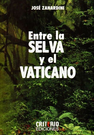 Paí entre Tánatos (el Vaticano) y Eros (la selva)