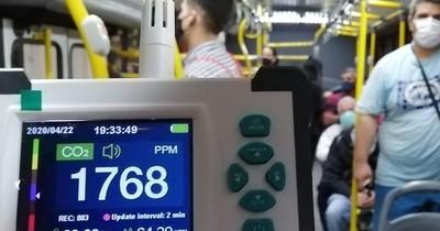 La Nación / COVID-19 en buses: evitar ventanas cerradas, conversar, comer y tomar tereré o mate
