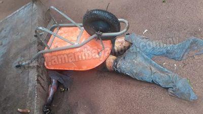 Un hombre murió apuñalado en Ñandejara Puente