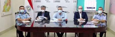 Implementarán vallas de control en puntos fijos de Asunción y Central