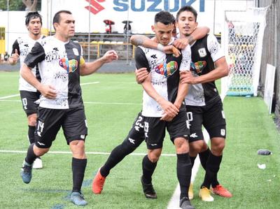 Tacuary y su primer triunfo en el torneo