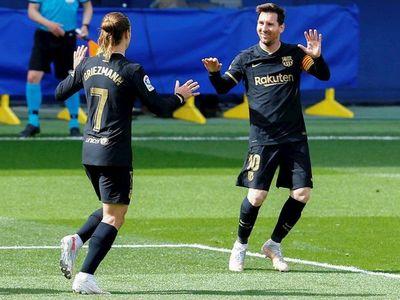 Barcelona gana con doblete de Griezmann y avisa al Atlético