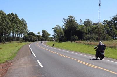 Mejoramiento de la ruta 1 beneficia a pobladores de Misiones e Itapúa