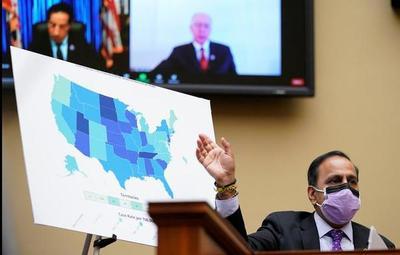 EE.UU: legislador insta a Biden a donar vacunas sobrantes y pedirán incluir a Paraguay