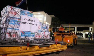 Llegaron al país 234.400 vacunas para avanzar con campaña de inmunización contra covid-19