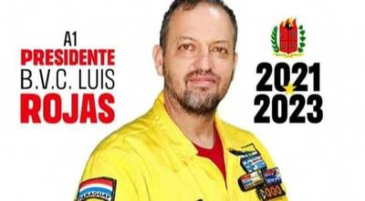 Exministro de la Senad es nuevo presidente de bomberos amarillos