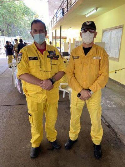 Ex ministro de la Senad Luis Rojas es nuevo titular de los Bomberos Voluntarios