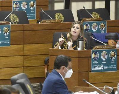 Juicio político a Abdo podría reactivarse si veta el redireccionamiento de fondos sociales, advierte diputada