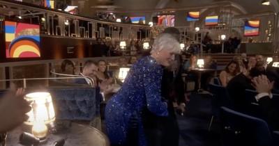 La Nación / El baile de Glenn Close se robó el show