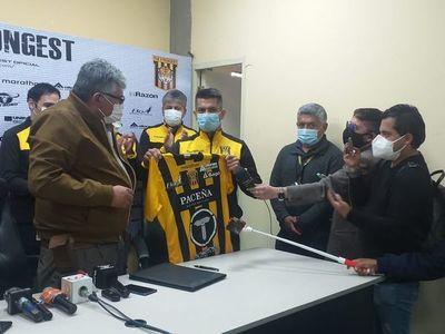 Gustavo Florentín fue presentado en el The Strongest de Bolivia