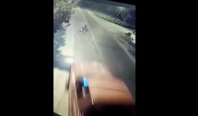 Crónica / [VÍDEO] Atropelló a su propio sobrino porque ndaje es drogadicto