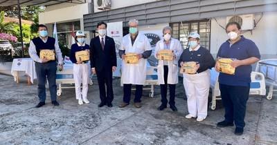 La Nación / La fundación Tzu Chi de la comunidad taiwanesa donó camas hospitalarias