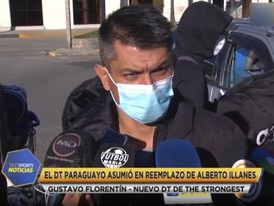 Gustavo Florentín, nuevo entrenador de The Strongest