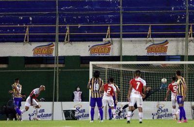 River Plate reacciona y saca un empate ante Luqueño