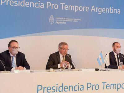 Mercosur acuerda debatir en mayo sobre la  reclamada flexibilización