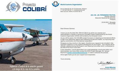 Paraguay formará parte del proyecto global de control de operaciones de aviación civil