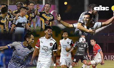 La agenda de los paraguayos en las copas Libertadores y Sudamericana