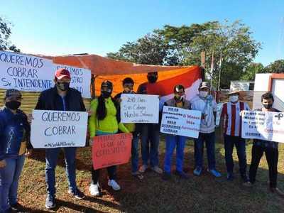 Continúa conflicto laboral en comuna de Azotey