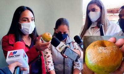 Denuncian que SEN entrega alimentos en mal estado a familiares de pacientes con Covid – Prensa 5