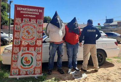 Intentaron robar auto de un funcionario municipal y fueron descubiertos