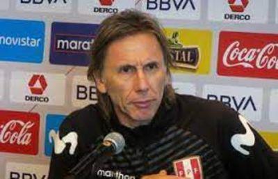Gareca descarta renunciar a selección de Perú pese a malos resultados