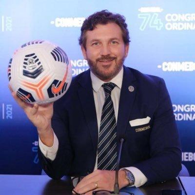 """Presidente de Conmebol: """"Vacunas para el fútbol sudamericano ya están llegando"""""""