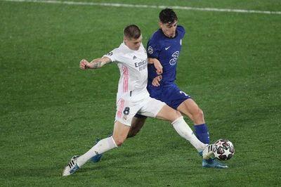Real Madrid y Chelsea empatan en la ida de semifinales