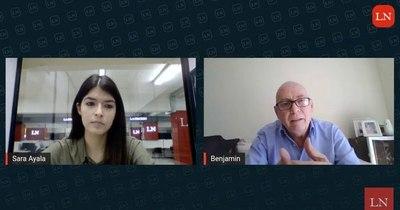 """La Nación / LN live con Benjamín Livieres: """"El periodista debe estar sujeto al contenido"""""""
