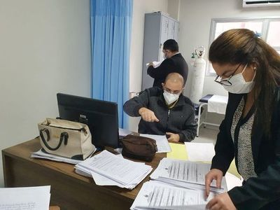 Fiscalía se constituyó en hospitales para indagar presuntas vacunaciones irregulares