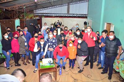 Unidos Podemos conformo comando en la Seccional 15 de Ciudad del Este