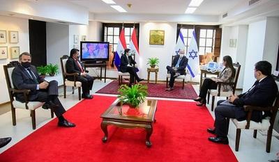 Israel entrega ventiladores pulmonares a Paraguay