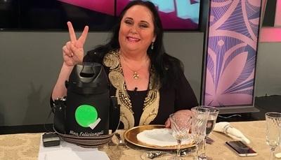 """Mina Feliciángeli retorna a la televisión con """"Mina en casa"""""""
