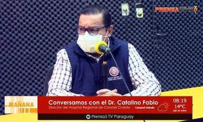 """""""Dejen de decir tonterías y dejen de acusarme cosas que no hice"""", dijo Catalino Fabio – Prensa 5"""