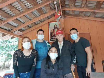 """Coronel Oviedo; Don Victorino, recibió víveres por parte de """"Jóvenes solidarios"""" – Prensa 5"""