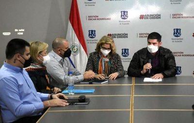 Municipalidad de Asunción y Ministerio de Salud habilitarán vacunatorios
