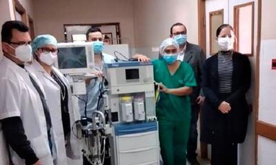 Entregan equipo de anestesia al Hospital Regional de Coronel Oviedo – Prensa 5